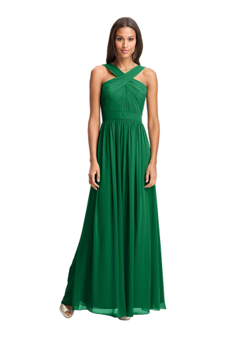 Crisscross Chiffon Gown (Nordstrom Exclusive)