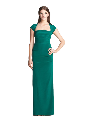 Felicity' Stretch Silk Gown