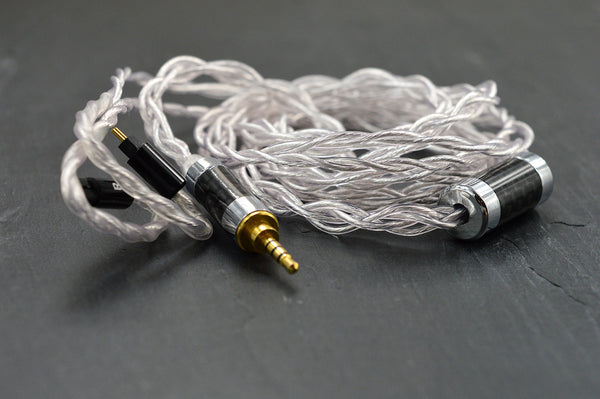 4 Wire single crystal Silver plated OFC Cable