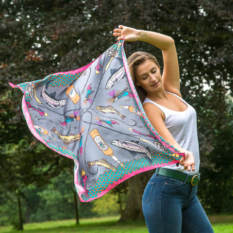 The Ettrick Silk Scarf