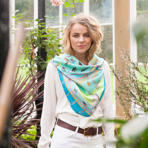 The Tay Silk Scarf - Dawn