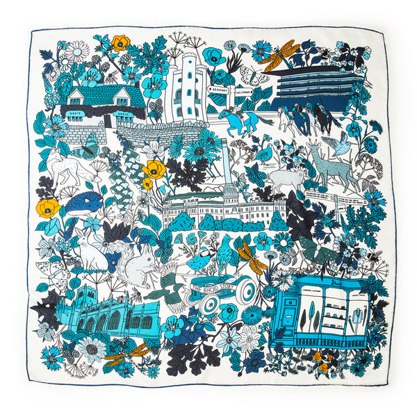NEW The Bhoid Story Silk Scarf