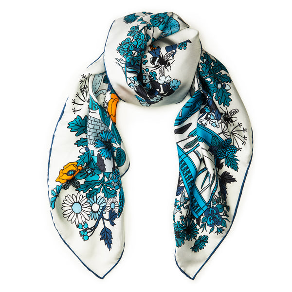 The Bhoid Story Silk Scarf