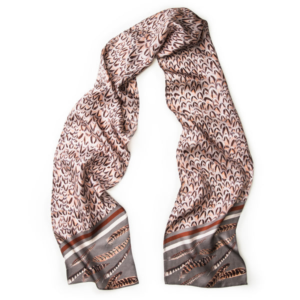 The Covey Skinny Scarf
