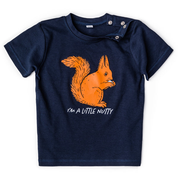 Children's T-shirt - I'm a little nutty