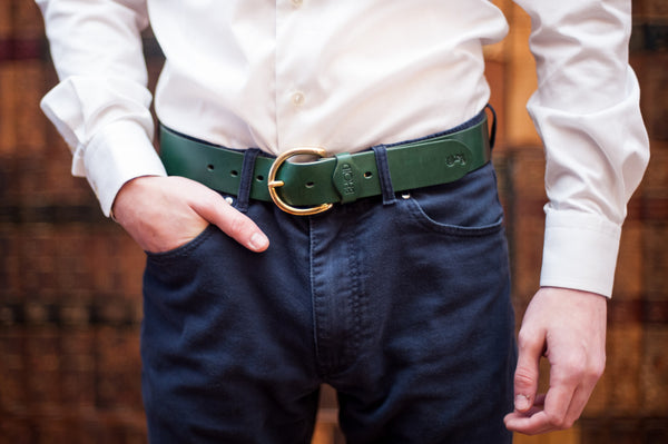 "Mull 1.5"" Leather Belt"