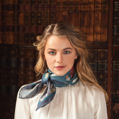 The Covey Silk Scarf
