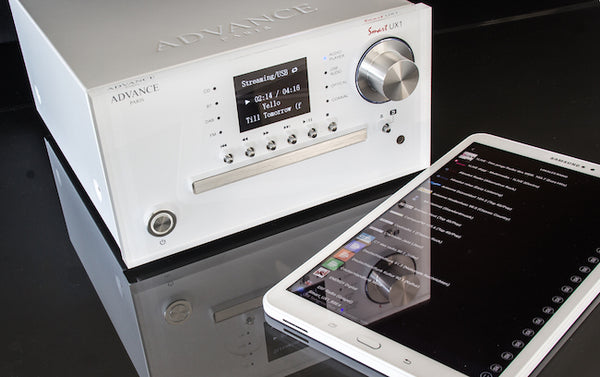 advance acoustic paris smart ux1 universal player cdplayer compactdisc dac streaming dab+ dac,musiklageret