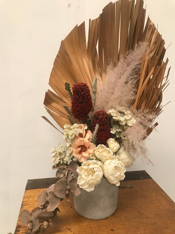 Silk Flowers - Earthy