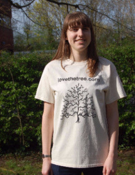 Love the Tree Cream T-shirt