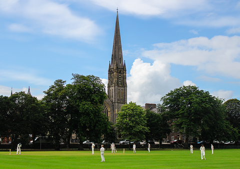 Cricket at the Mall, Armagh