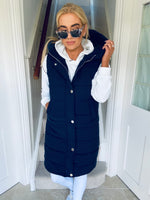 Ellie Gilet Navy