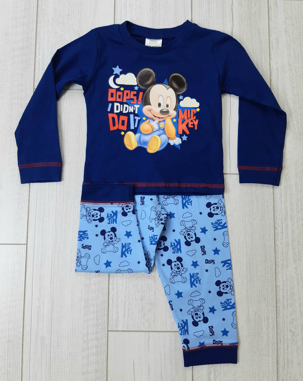 Baby Boy Mickey PJ Set