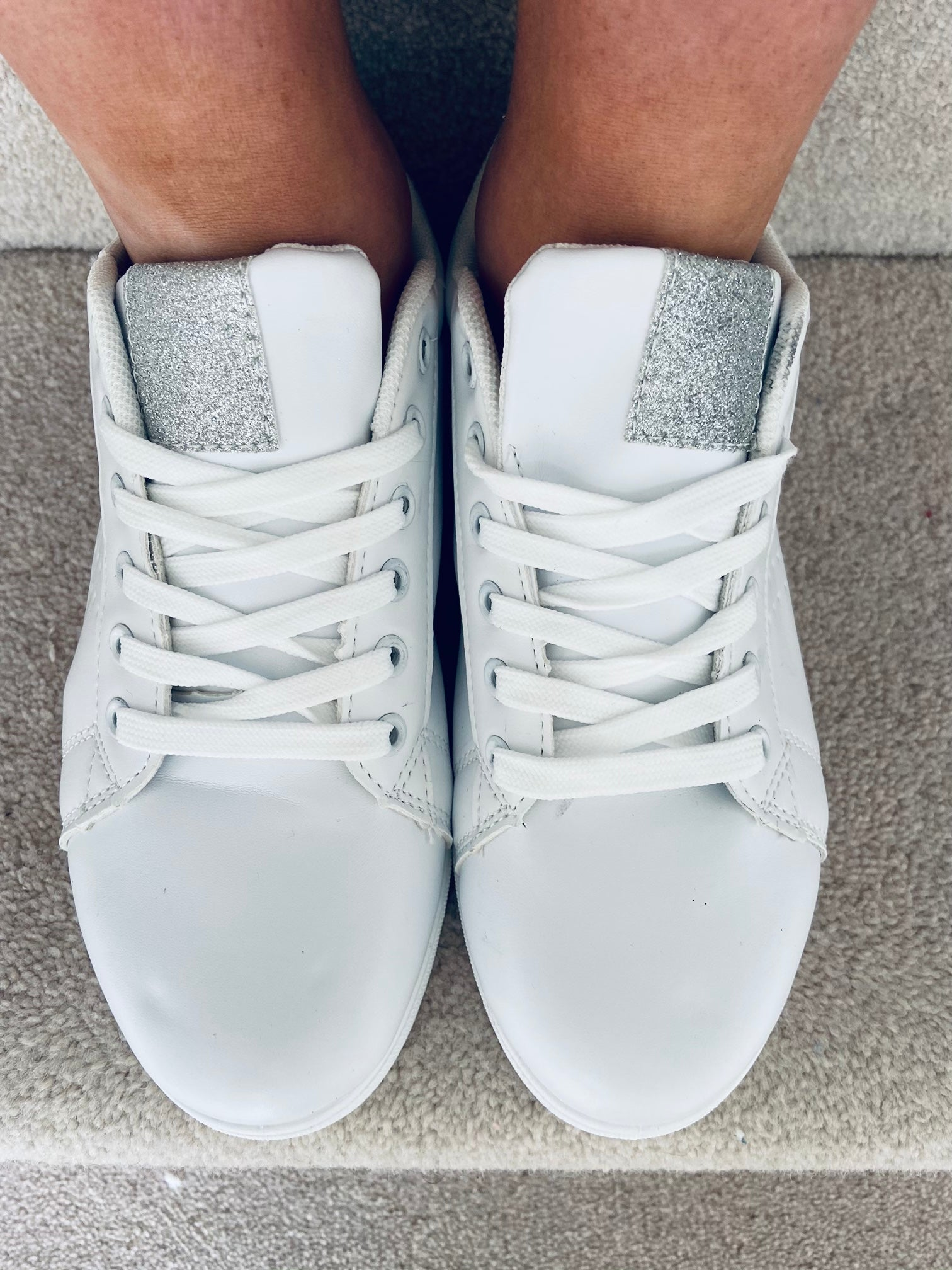Farah Trainers Silver