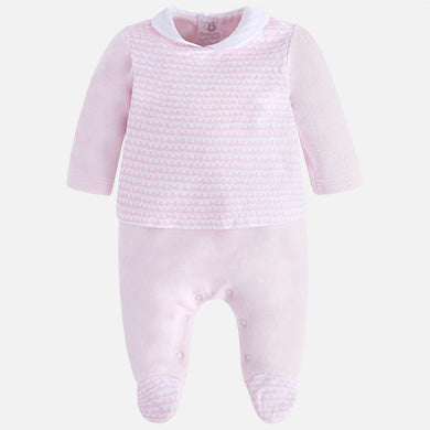Baby Girl blouse style pjs