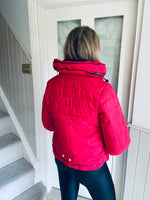 Roise Jacket Red