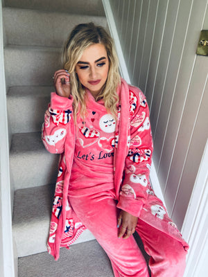 Love Me PJ Set Pink