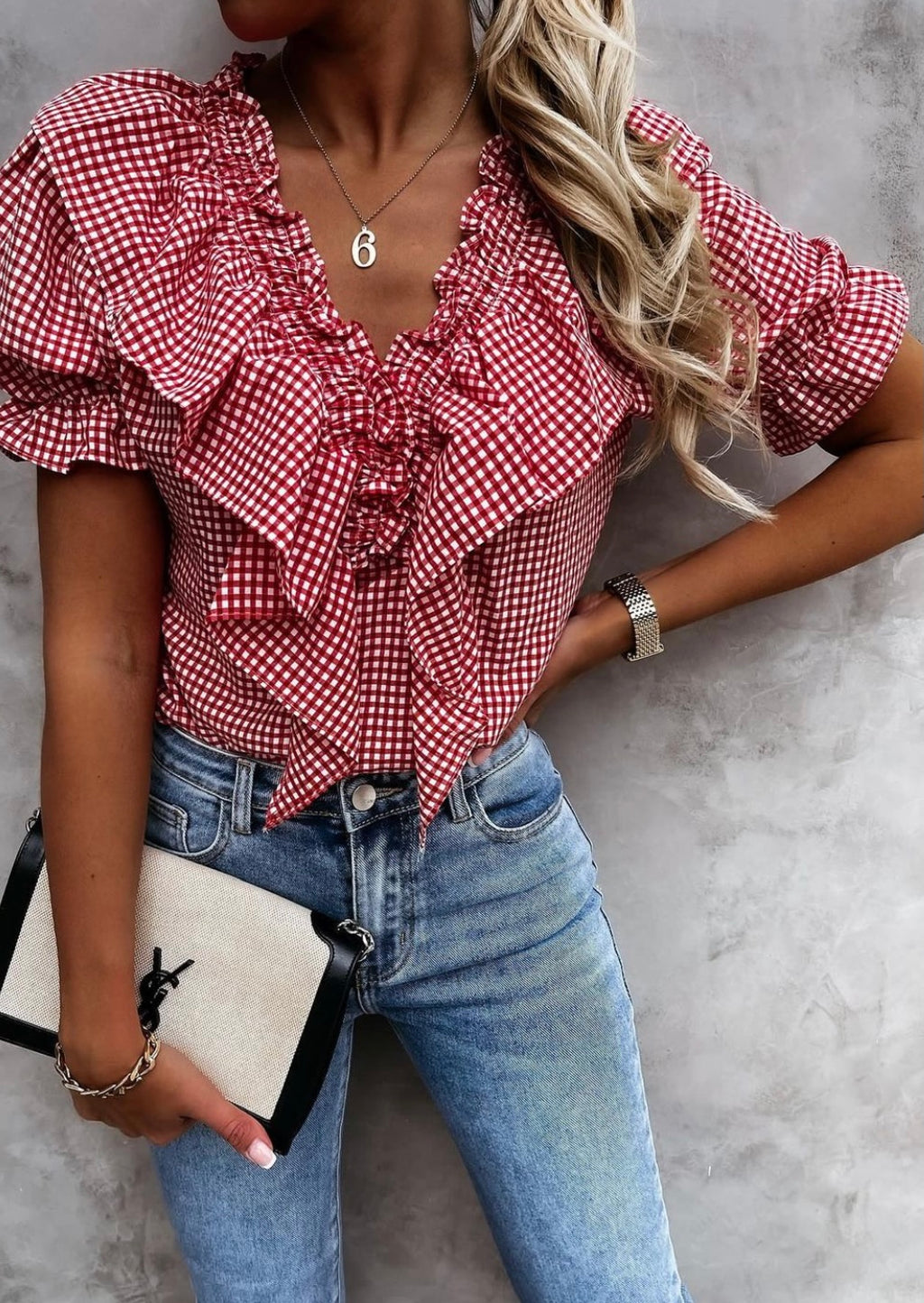 Pippa Top Red