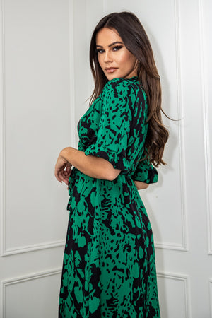 Nora Dress Green