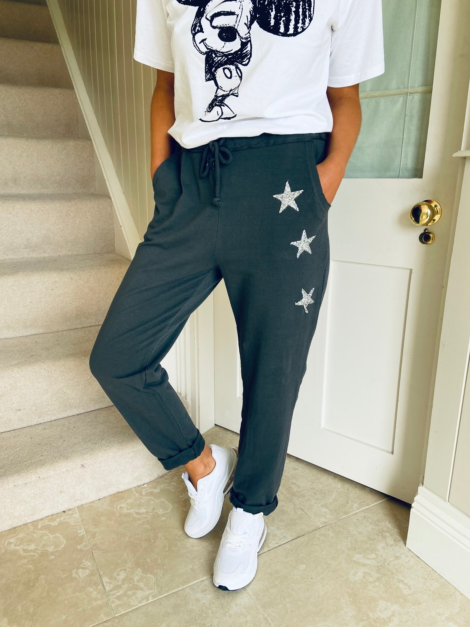 Star Joggers Charcoal