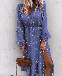 Peggy Dress Blue