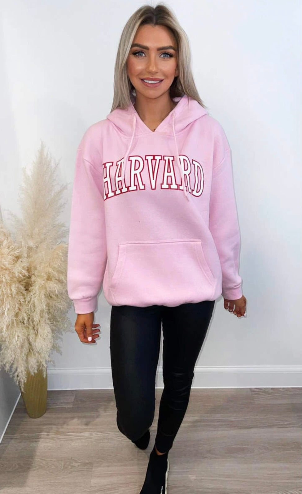 Harvard Jumper Pink