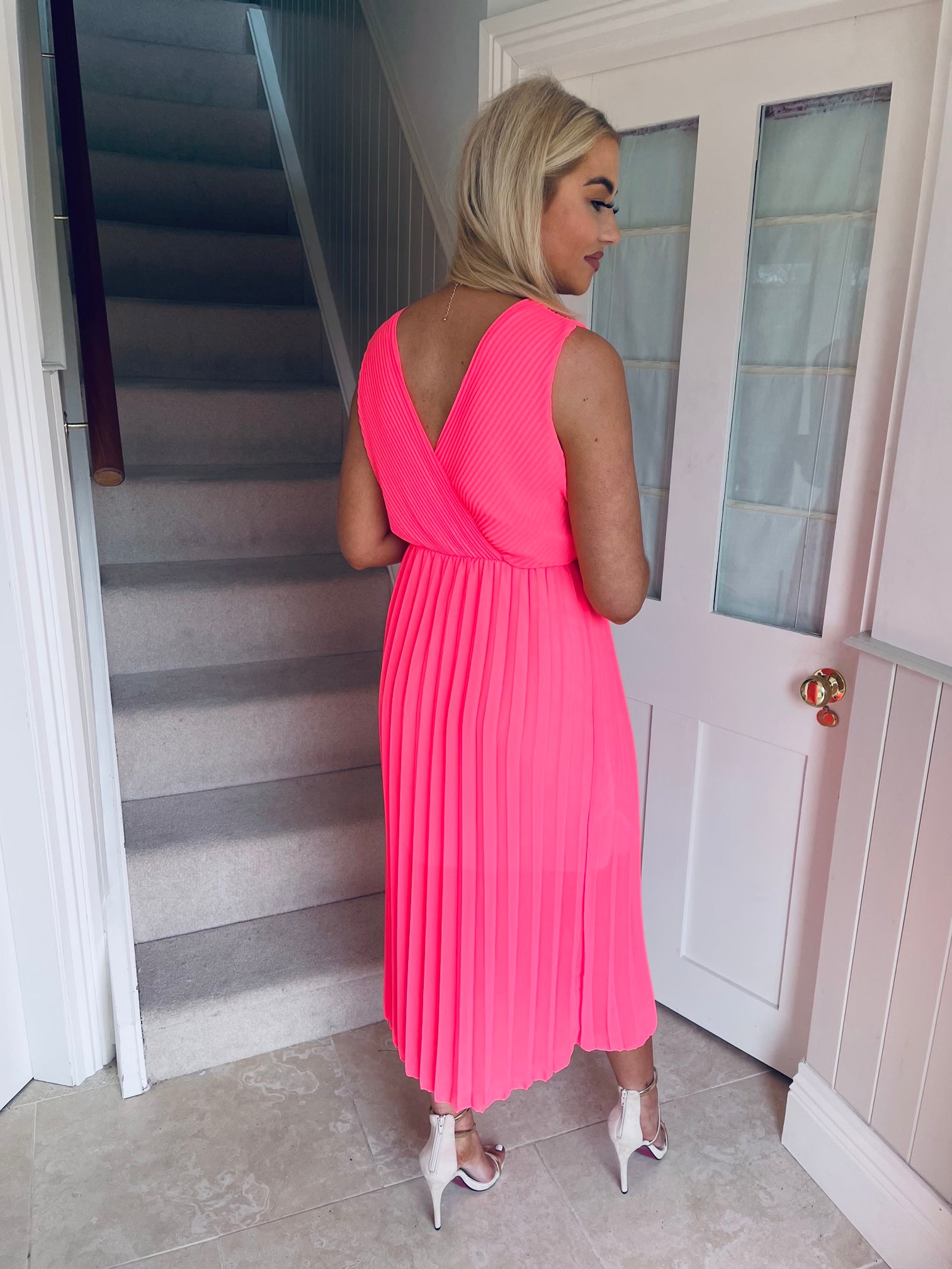 Rocco Dress Neon Pink