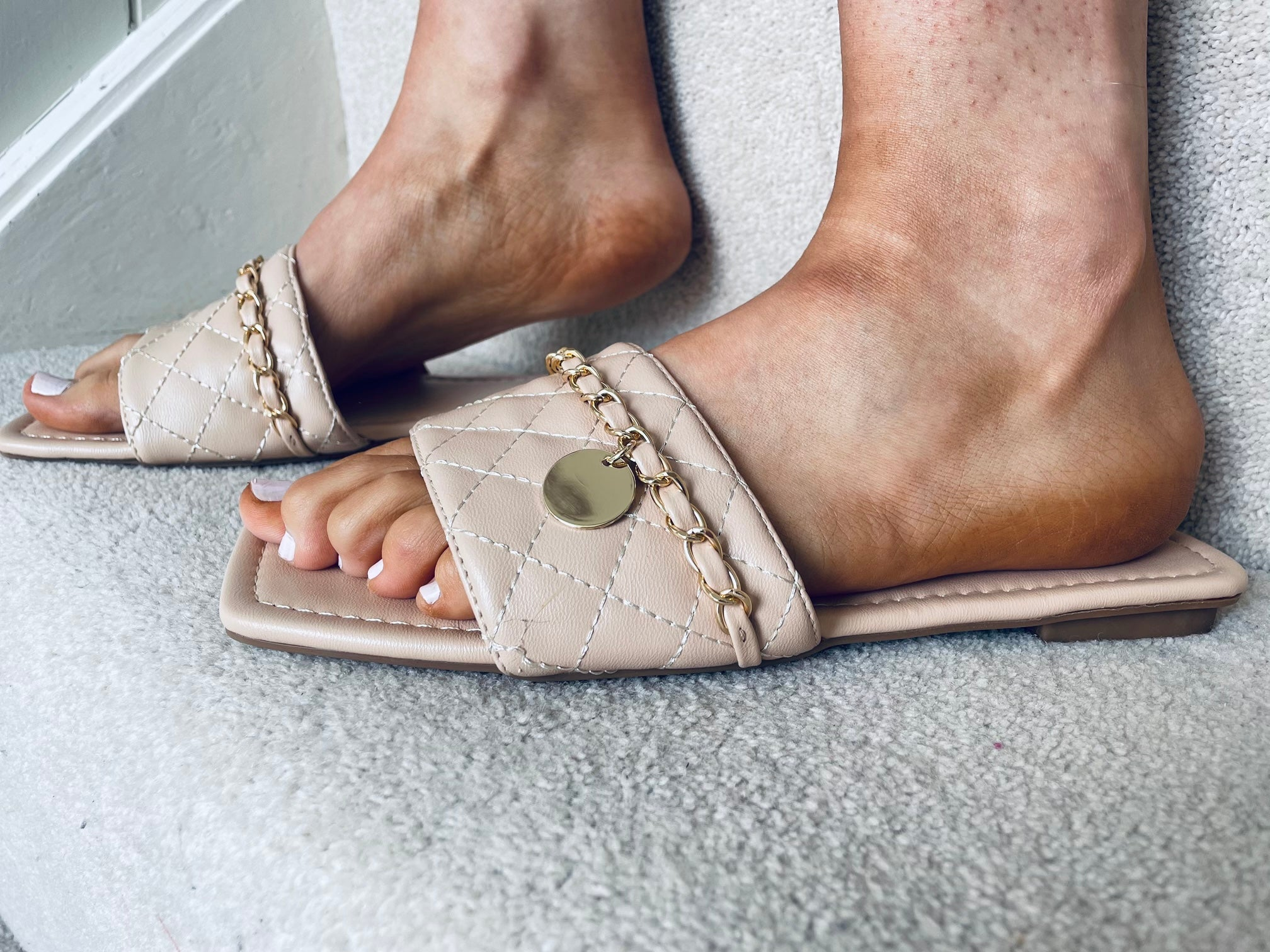 Christoff Sandals Beige