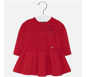 Baby girl red dress