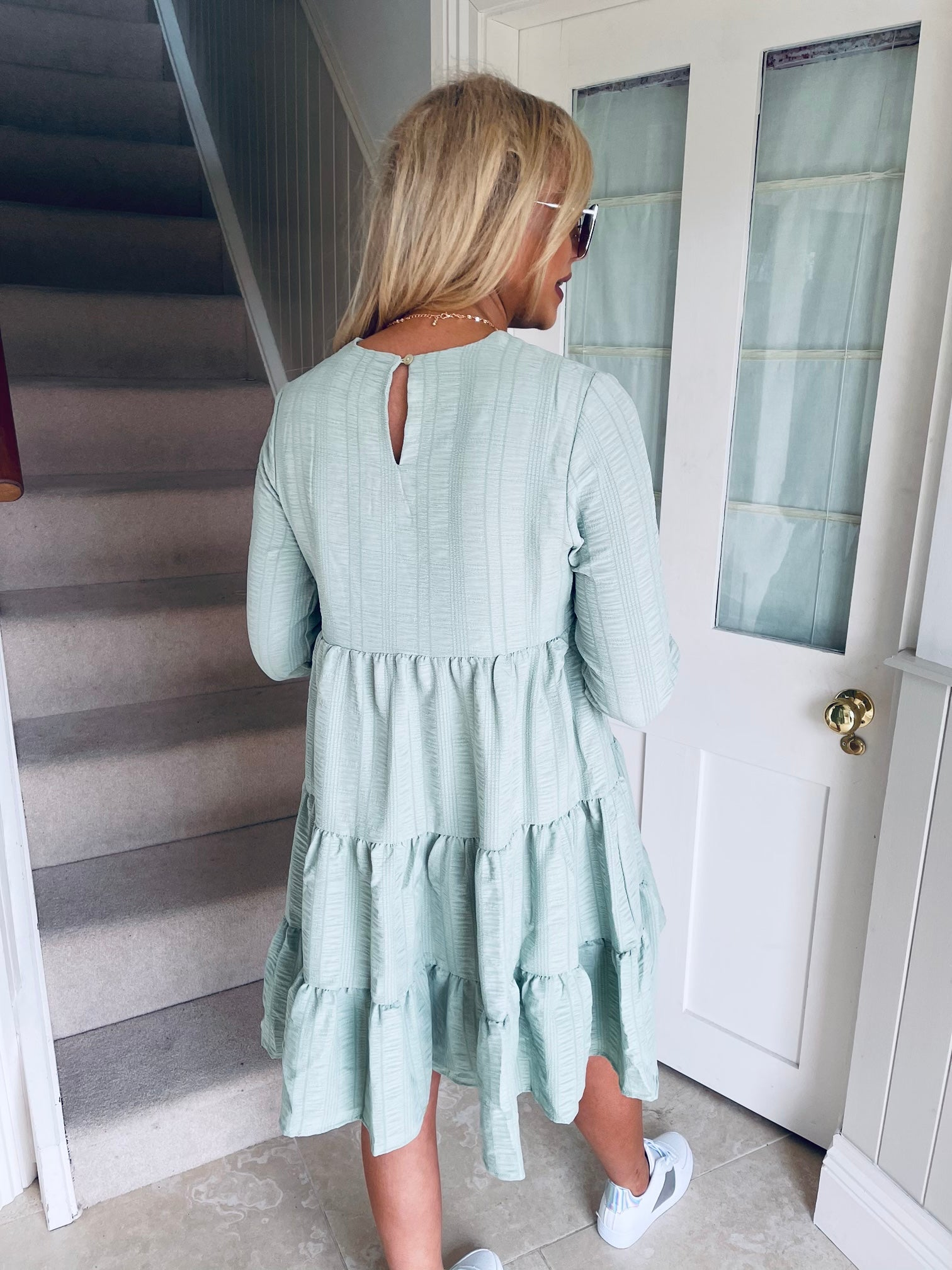 Cait Dress Green