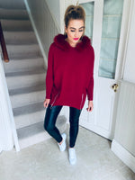 Moby Jumper Burgundy