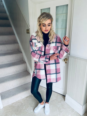 Charlotte Shacket Blush