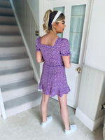 Sia Dress Purple