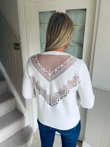 Jules Top White