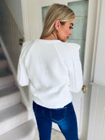 Tizi Jumper White