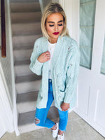 Perri Cardigan Mint
