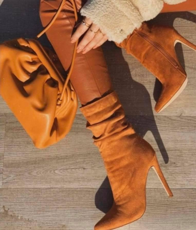 Kendall Boots Camel