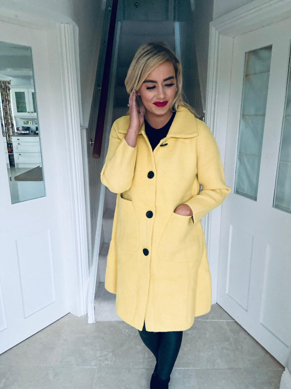 Siliris Coat Yellow