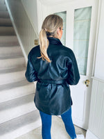 Bobbi Leatherette Shacket