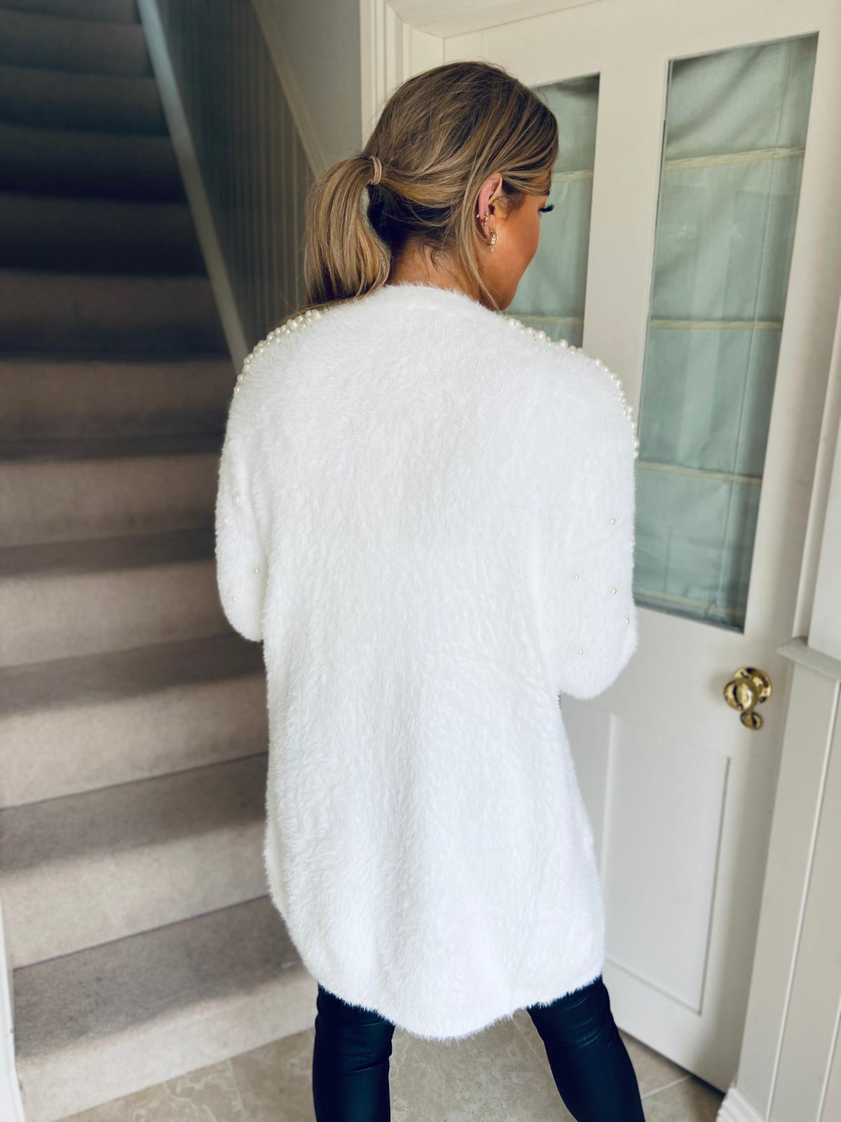 Jess Cardigan White