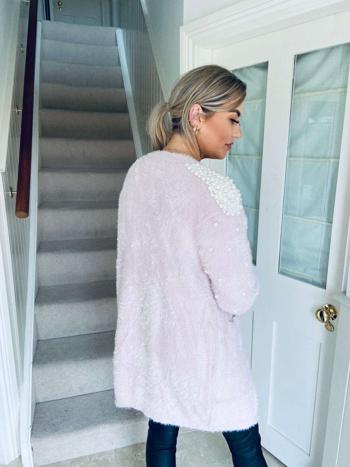 Jess Cardigan Blush