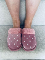 Star Slippers Pink