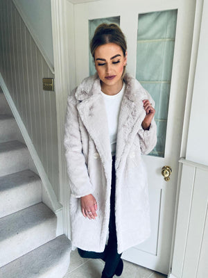 Viki Faux Fur Coat