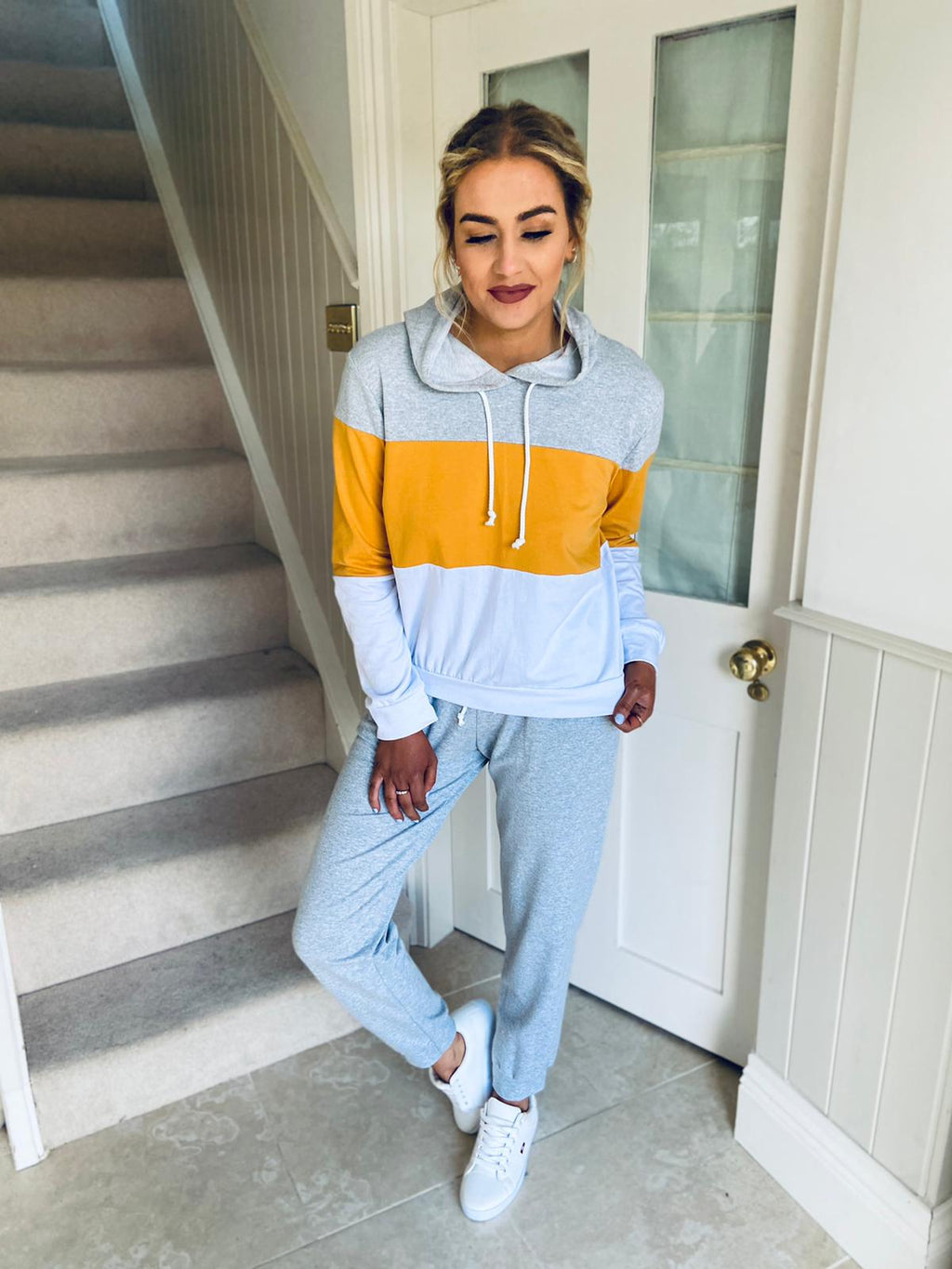 Dion Tracksuit Mustard