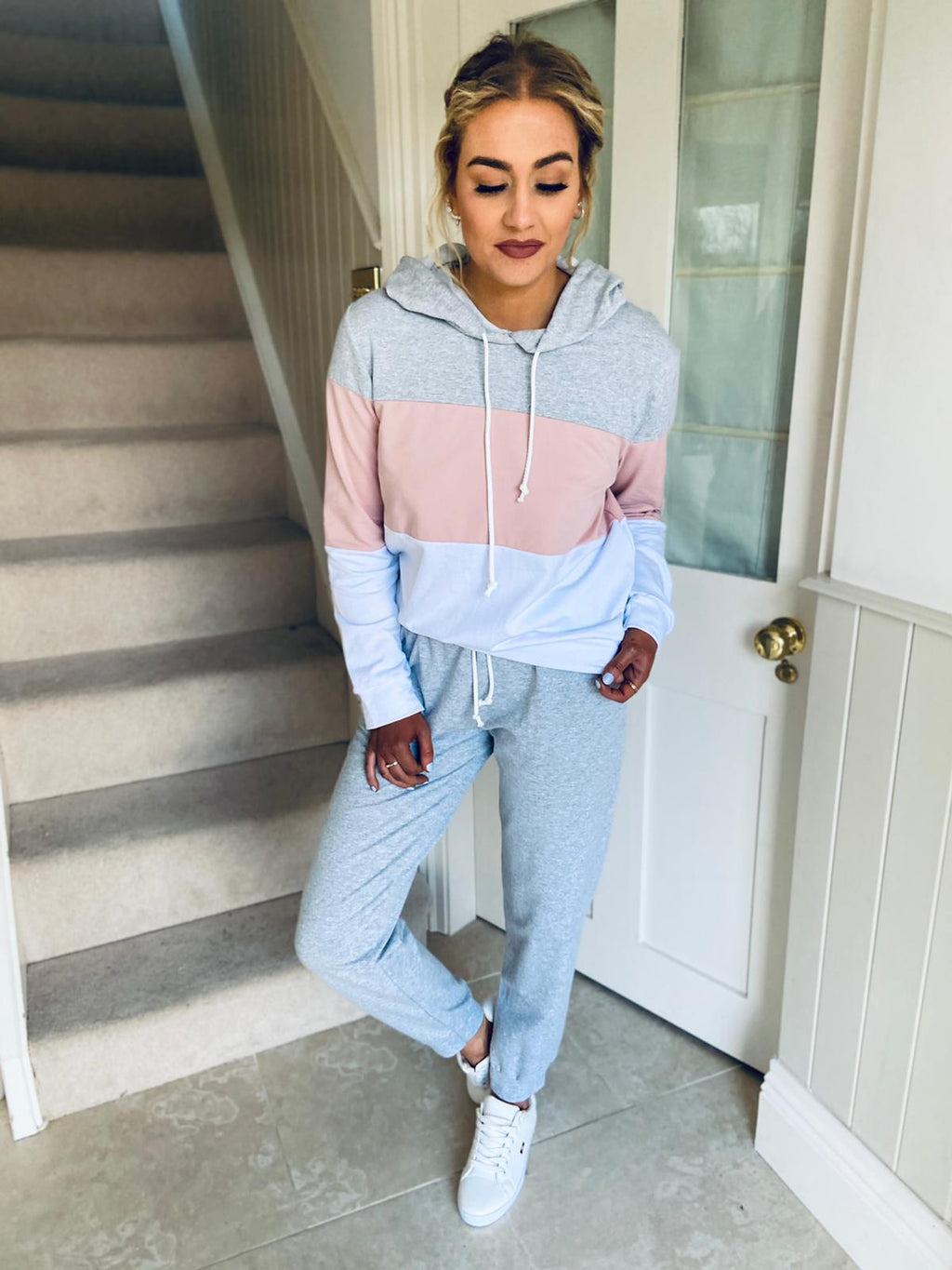 Dion Tracksuit Pink