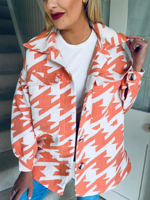 Darcy Shacket Orange