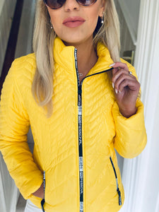 Beky Jacket Yellow