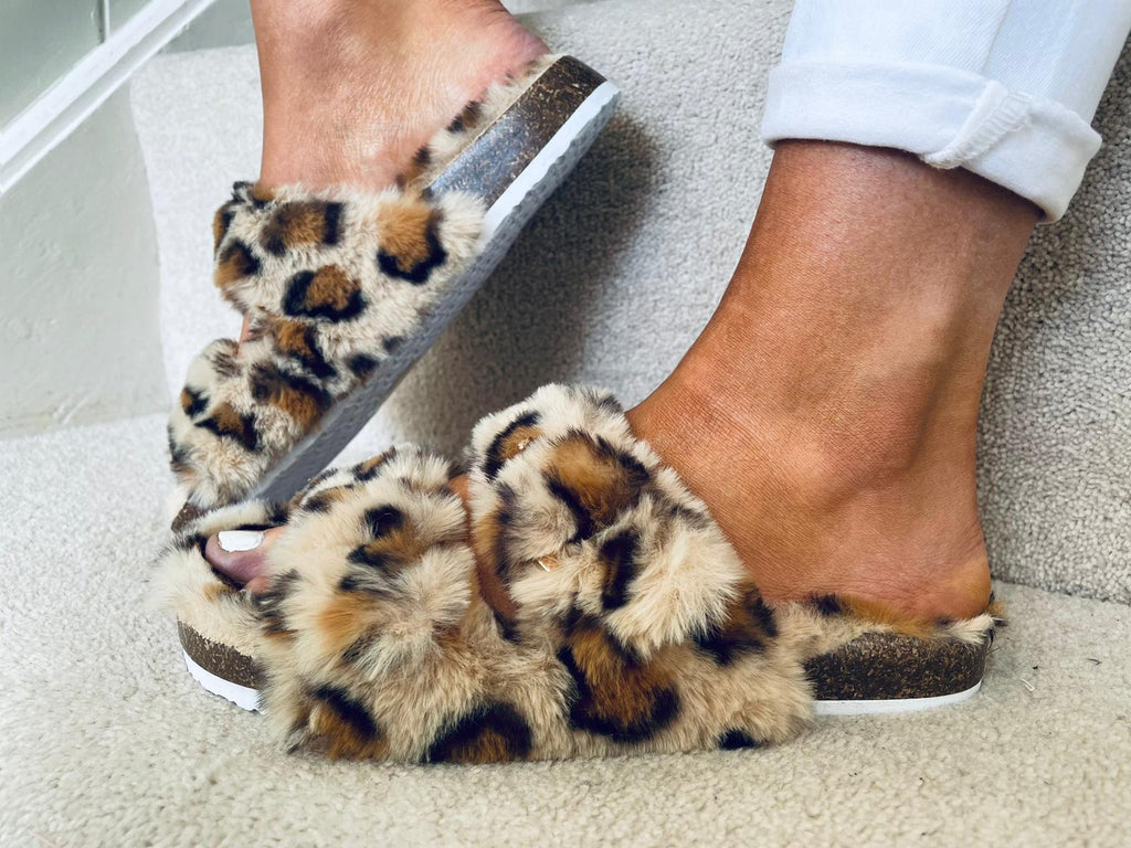 Gerry Slippers Leopard
