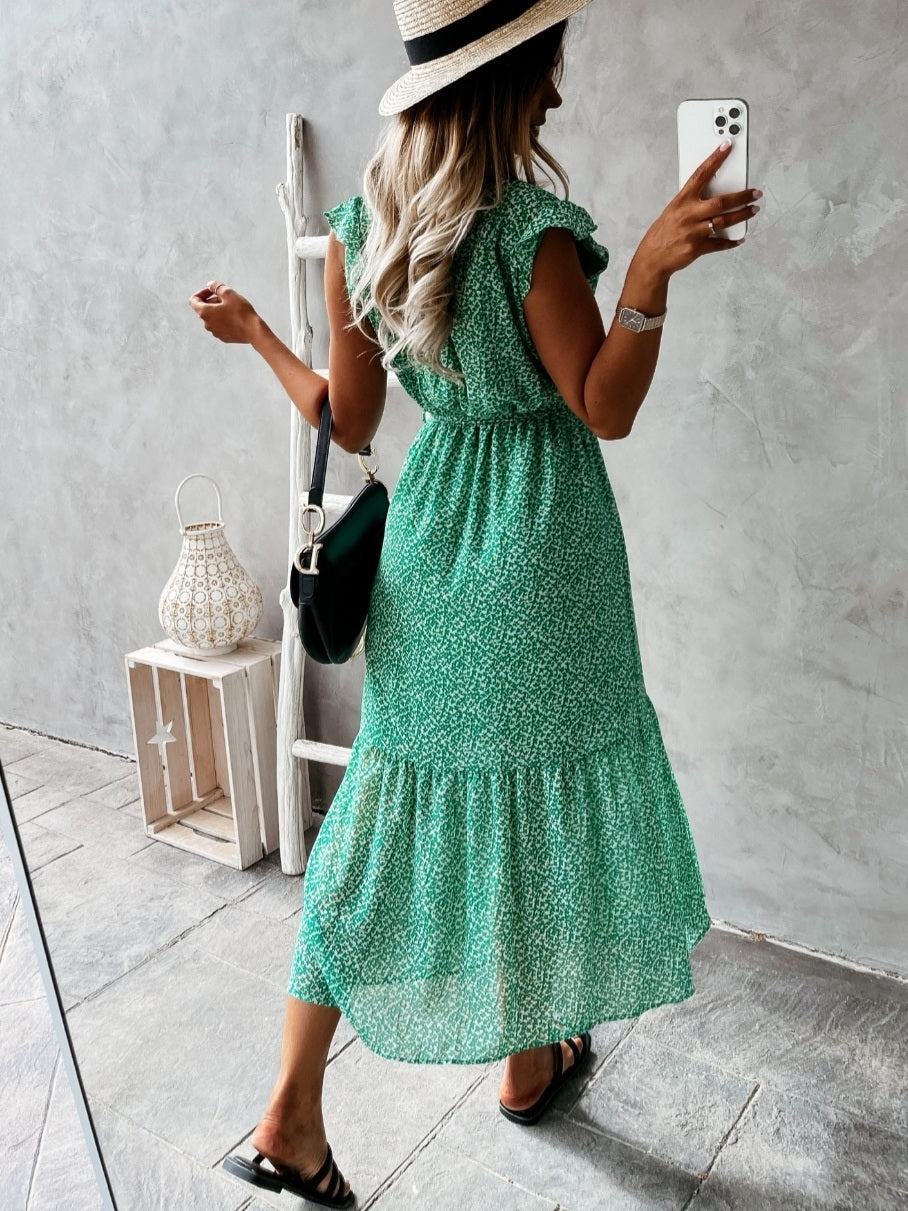 Cali Dress Green