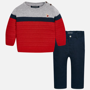 Baby Boy set of long trousers and jumper